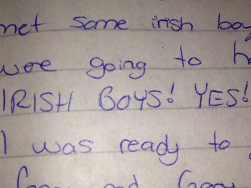 I like the Irish