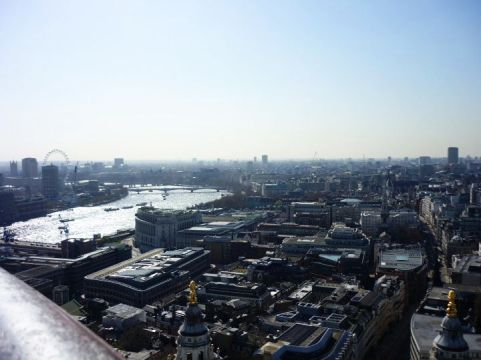 Beautiful view of London