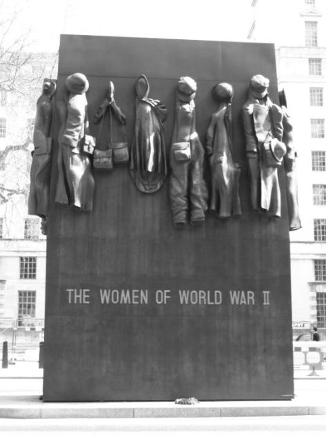 Dedicated to the women of WWII