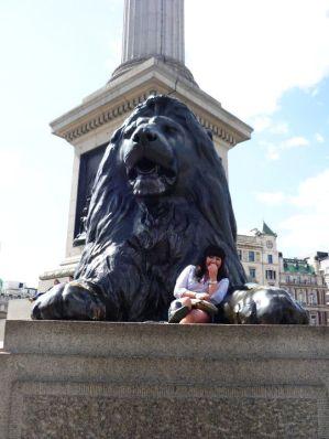 Trafalger Square Lions