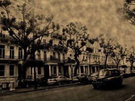 London street.
