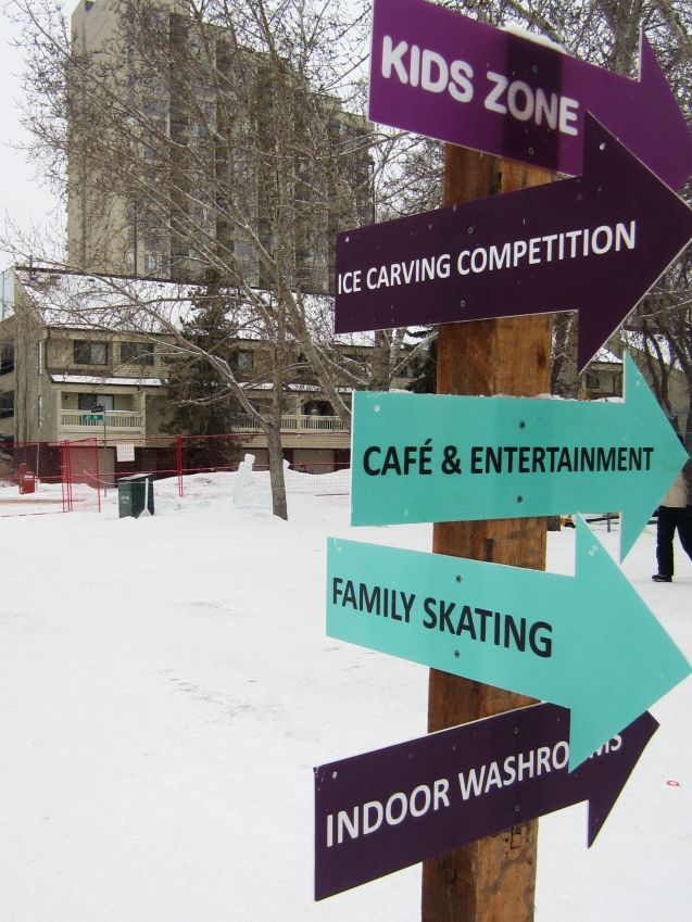 Much to do at Ice on Whyte!