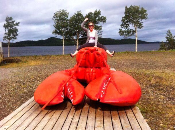 Lobster riding