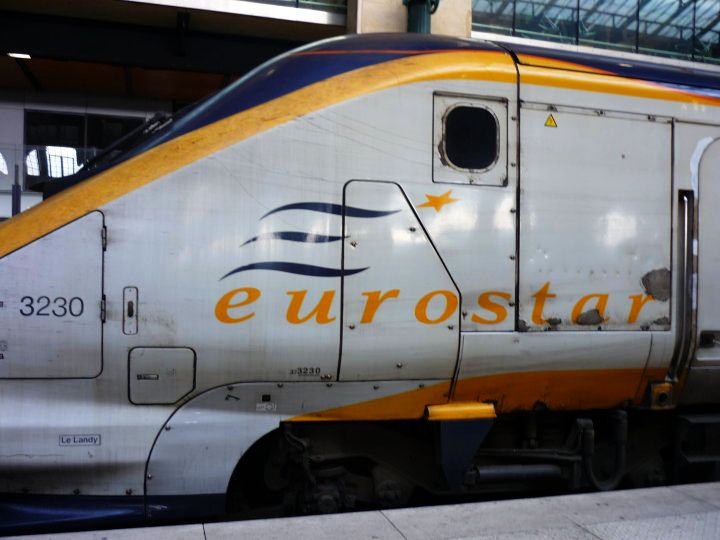 Eurostar from London to Paris
