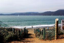 Baker Beach view.