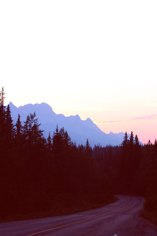 Jasper National Park sunset